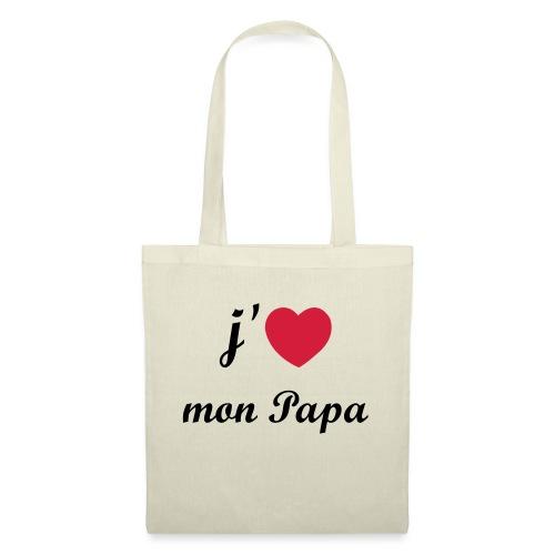 J'aime mon papa - 01 Vecto - Tote Bag