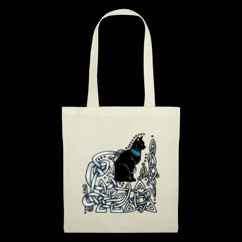 Celtic Cat - Tote Bag