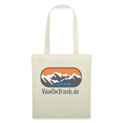 VanOnTrack Logo Berge, See und Freihet - Stoffbeutel