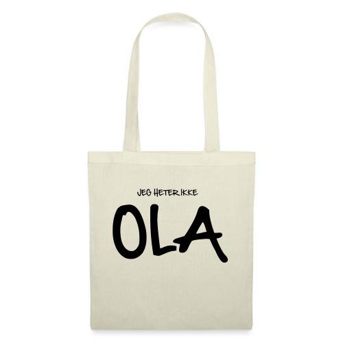 Jeg heter ikke Ola (fra Det norske plagg) - Stoffveske