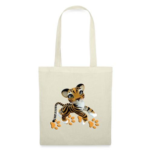 Kleiner Tiger - Stoffbeutel