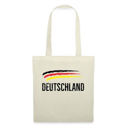 Deutschland, Flag of Germany - Tote Bag