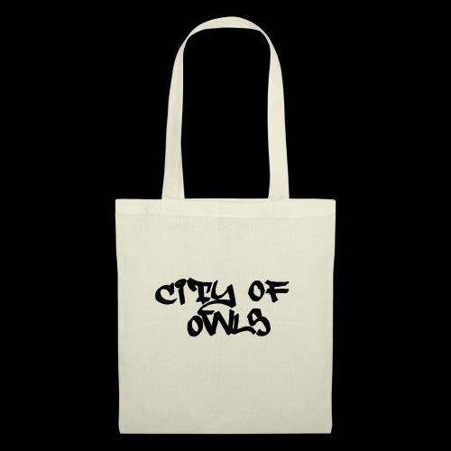 City of owls - Stoffbeutel
