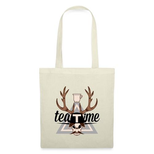 Logo TeaTime - Sac en tissu