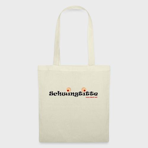 Schwingtitte - Stoffbeutel