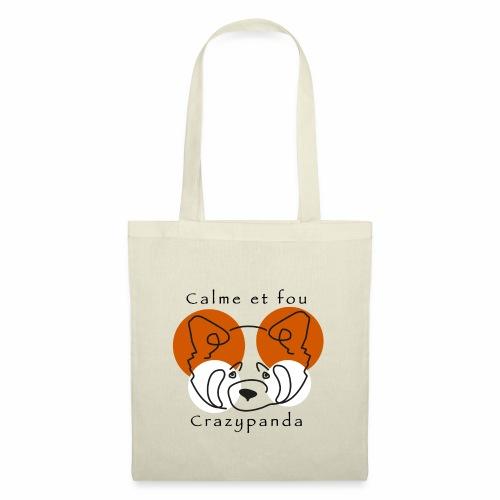 Calme et fou - Tote Bag