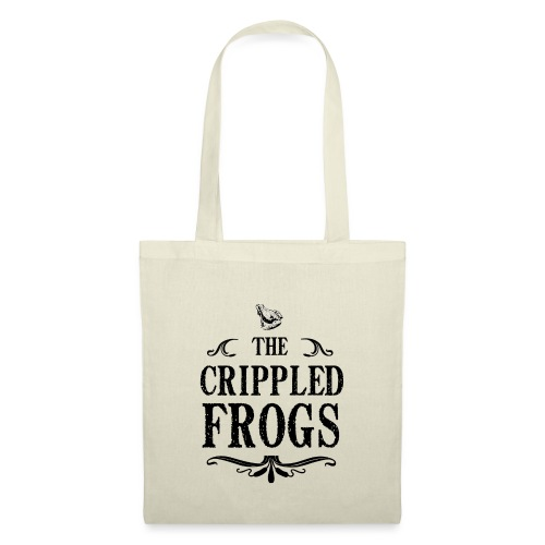 Logo The Crippled Frogs Black - Tote Bag