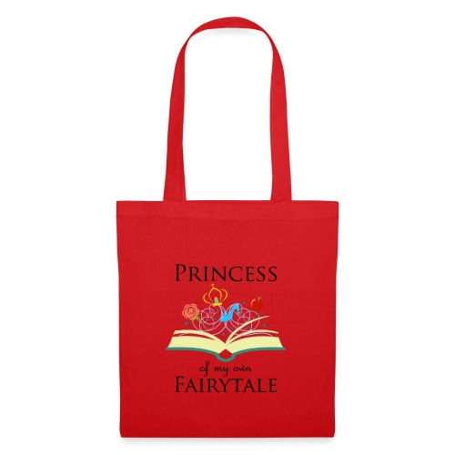 Princess of my own fairytale - Black - Tote Bag