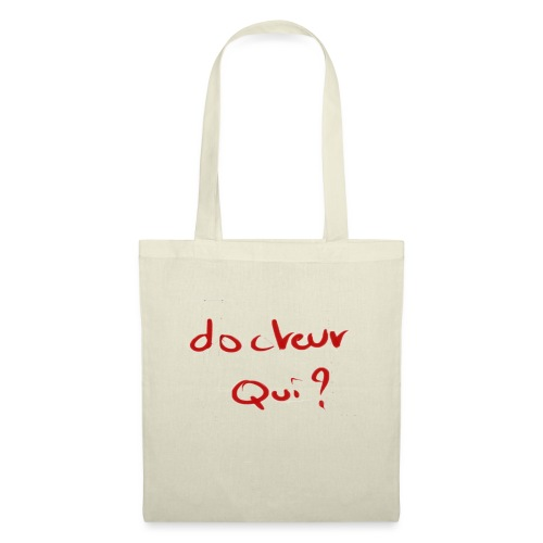 Docteur qui ? - Tote Bag