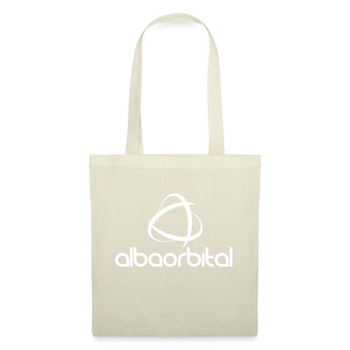 Alba Orbital Logo - White - Tote Bag