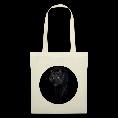 Black Wolf - Tote Bag