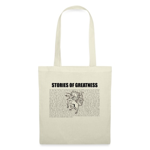 Stories of Greatness - Tote Bag