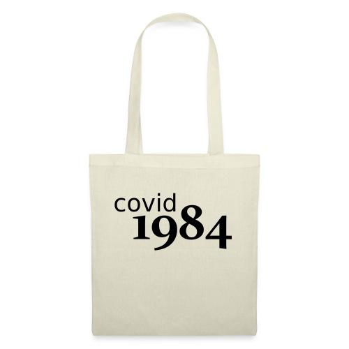 covid1984 V2 - Stoffbeutel