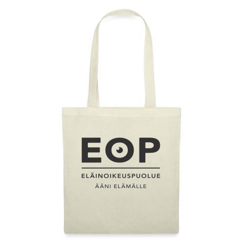 EOP Logo slogan musta - Kangaskassi