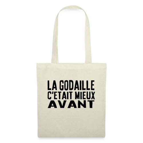 c'était mieux avant - simple - Tote Bag