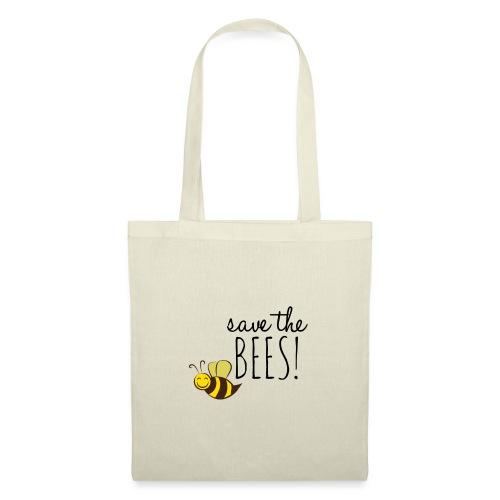 SAVE THE BEES! (Rettet die Bienen) - Stoffbeutel