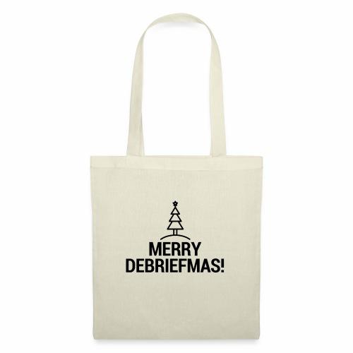 MERRY DEBRIEFMAS - Borsa di stoffa