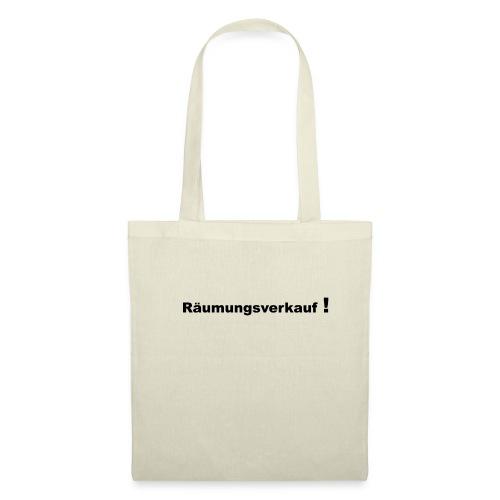 Raeumungsverkauf - Stoffbeutel