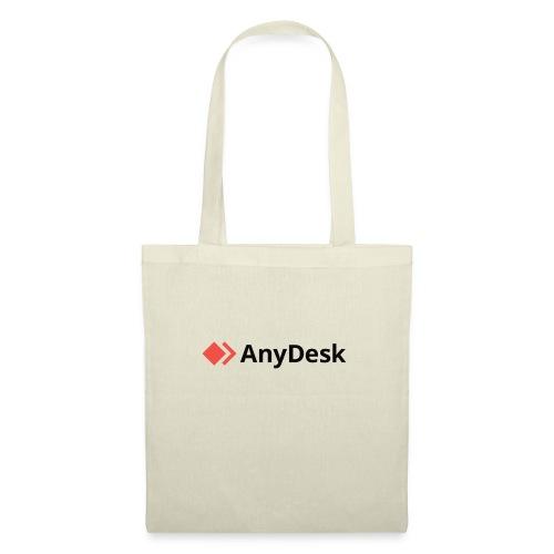 AnyDesk - logo black - Stoffbeutel