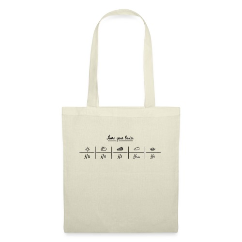 Learn you basics : sunny 16 rule - Tote Bag