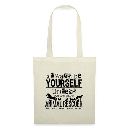 Animal Rescuer Black - Kangaskassi