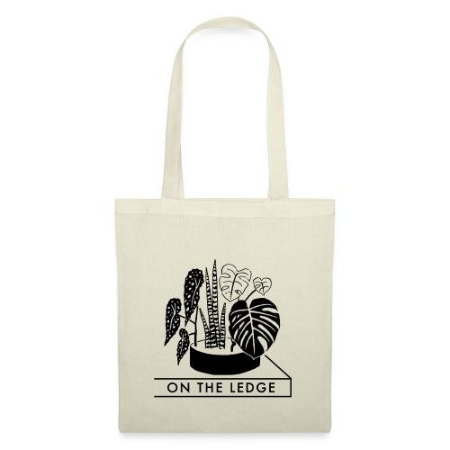On The Ledge black and white logo - Tote Bag
