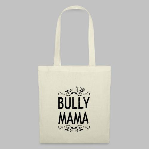 Stolze Bully Mama - Motiv mit Schmetterling - Stoffbeutel