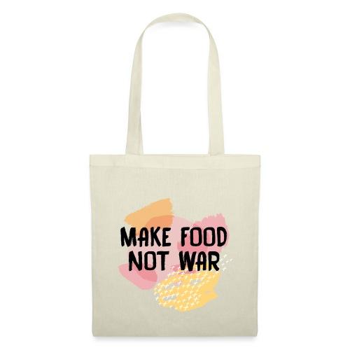 Make Food Not War - Stoffbeutel