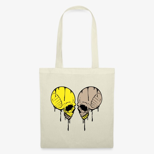 Dripping Skull (2 of 3) - Tote Bag