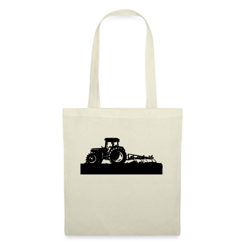 Tractor with cultivator - Tote Bag
