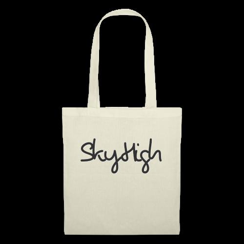 SkyHigh - Women's Premium T-Shirt - Black Lettering - Tote Bag