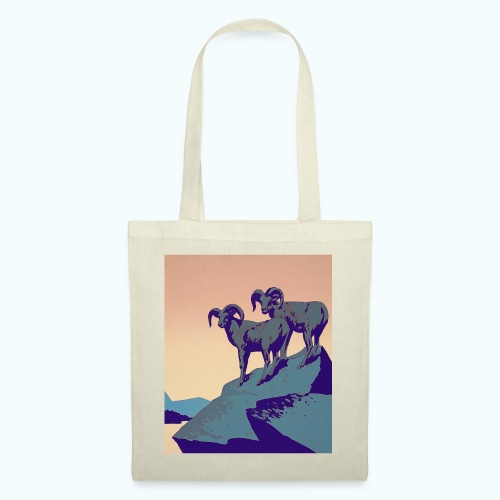 Vintage Capricorn Travel Poster - Tote Bag