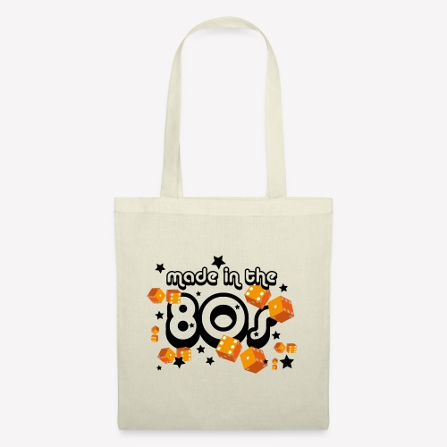 Made in the 80s – Orange - Stoffbeutel