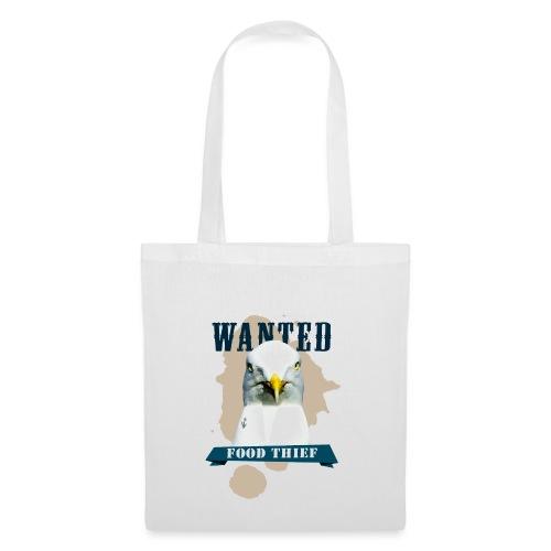 WANTED - FOOD THIEF - Stoffbeutel