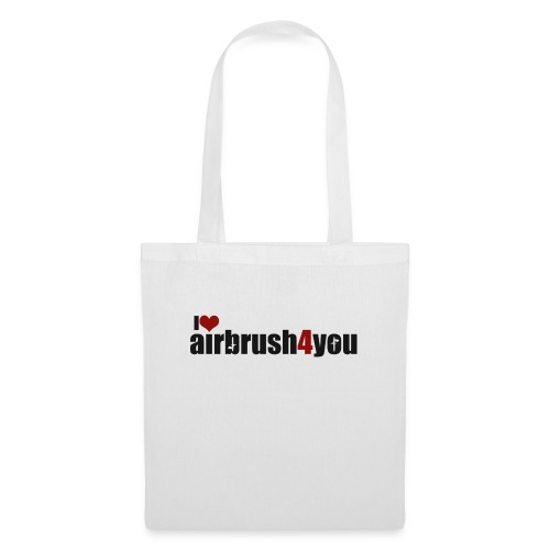 I Love airbrush4you - Stoffbeutel