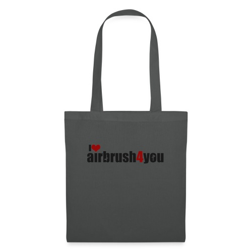 I Love airbrush4you - Stoffbeutel