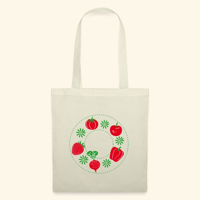 Frutos rojos del huerto