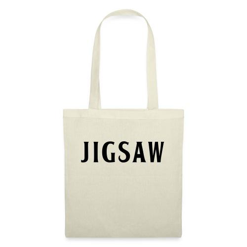 JigSaw Black - Tote Bag