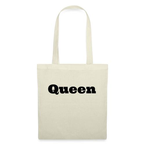Snapback queen rood/zwart - Tas van stof