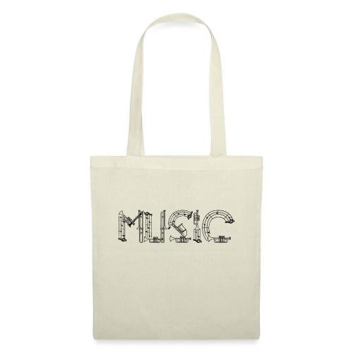 Musique - Sac en tissu