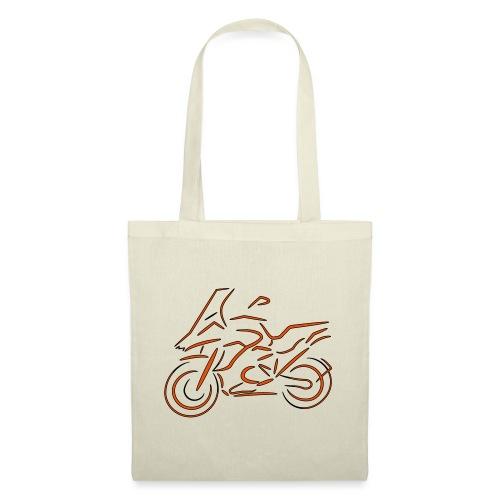 Motorrad Fahrer, Bike, Biker, 1200 - Stoffbeutel