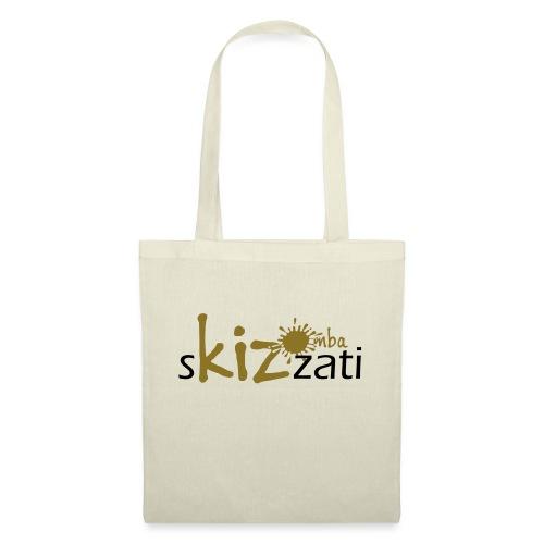 Beanie in jersey con logo sKizzati Kizomba - Verde - Borsa di stoffa