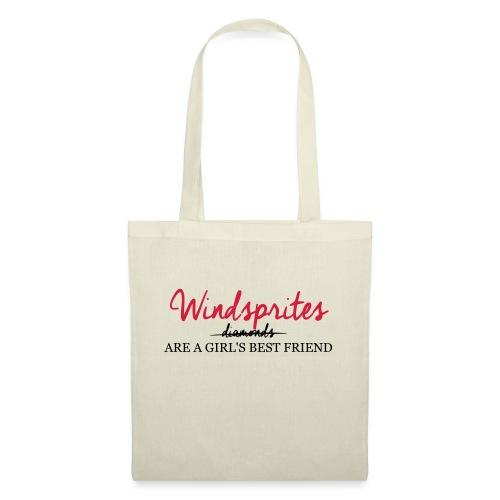 Windsprite are a girls best friend - Stoffbeutel