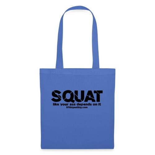 squat - Tote Bag