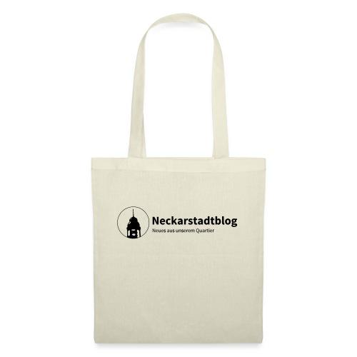 Neckarstadtblog Logo & Claim - Stoffbeutel