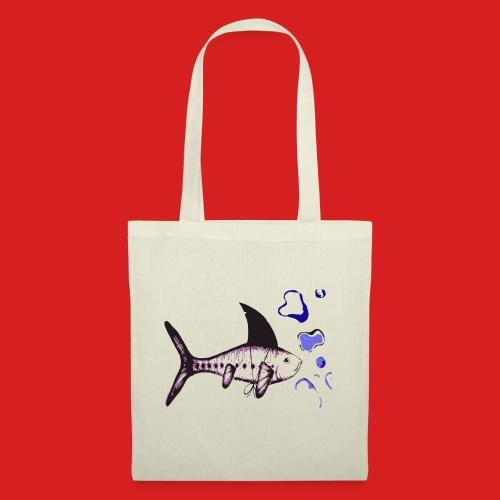 Hai-Fisch - Stoffbeutel