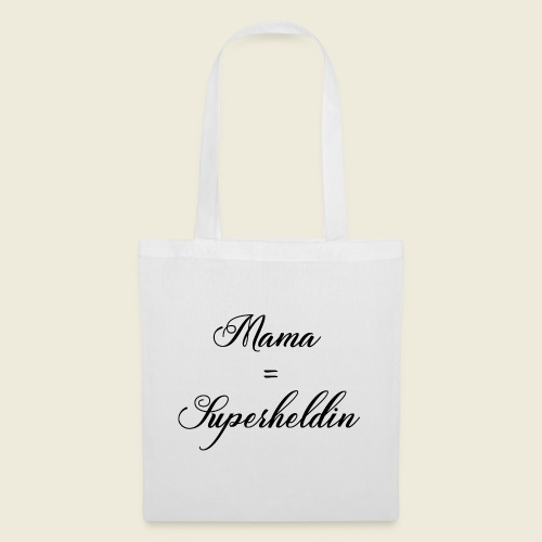 Mama Superheldin - Stoffbeutel