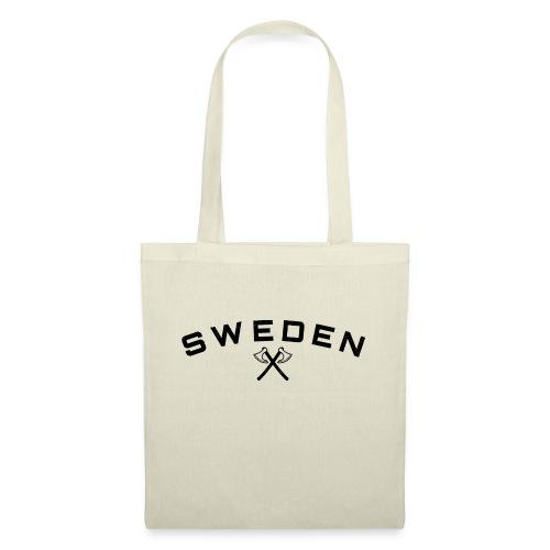 Sweden viking axes - Tygväska