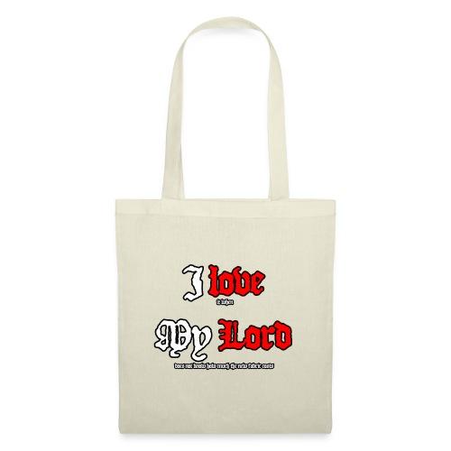 I love my Lord - Tote Bag