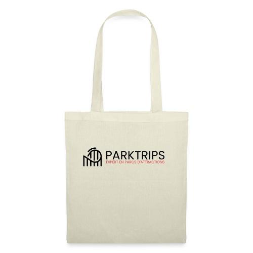 Park Trips - Logo Noir - Tote Bag